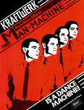 Kraftwerk - The Man Machine - 1978 - Album Release Promo Poster