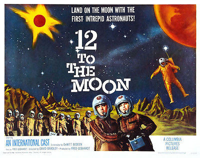 12 To The Moon - 1960 - Movie Poster
