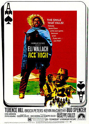 Ace High - 1968 - Movie Poster