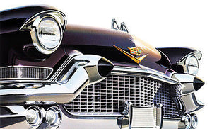 1957 Cadillac - Promotional Advertising Poster