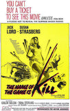 The Name Of The Game Is Kill - 1968 - Movie Poster