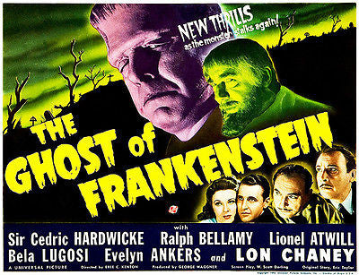 The Ghost of Frankenstein - 1942 - Movie Poster