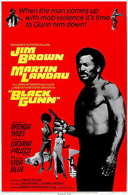 Black Gunn - 1972 - Movie Poster
