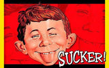 MAD Magazine Alfred E Neuman Magnet
