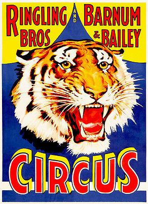 Ringling Brothers and Barnum & Bailey - Circus Show Poster Magnet
