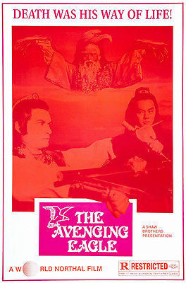 The Avenging Eagle - 1978 - Movie Poster