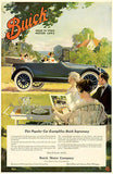 1917 Buick - Promotional Advertising Poster