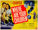 Where Are Your Children? - 1943 - Movie Poster