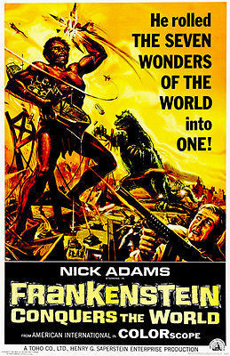Frankenstein Conquers The World - 1965 - Movie Poster
