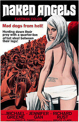 Naked Angels - 1969 - Movie Poster