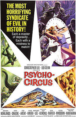 Psycho-Circus - 1966 - Movie Poster