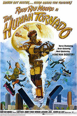 The Human Tornado - 1976 - Movie Poster