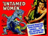 Untamed Women - 1952 - Movie Poster