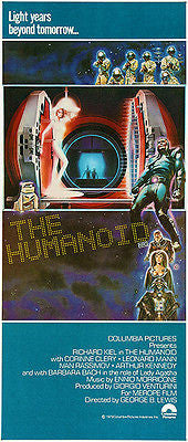 The Humanoid - 1979 - Movie Poster