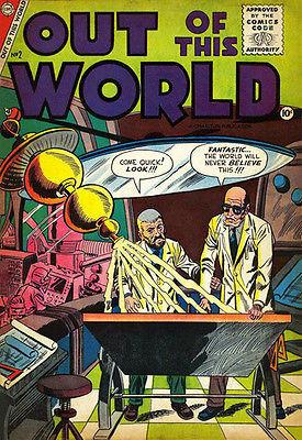 Out of This World #2 - December 1956 - Comic Book Cover Magnet