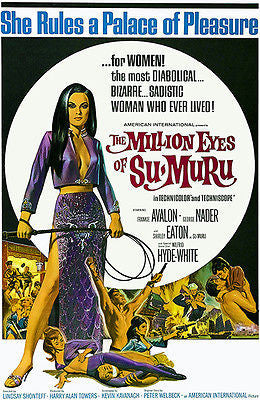 The Million Eyes Of Su-Muru - 1967 - Movie Poster