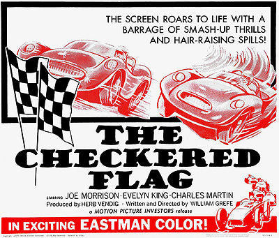 The Checkered Flag - 1963 - Movie Poster