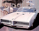 1968 Pontiac GTO - Promotional Advertising Poster
