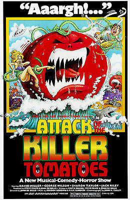 Attack of the Killer Tomatoes - 1978 - Movie Poster