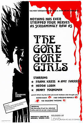 The Gore Gore Girls - 1972 - Movie Poster