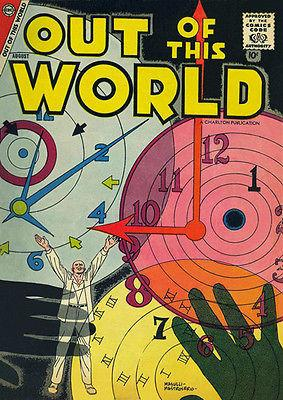Out of This World #9 - August 1958 - Comic Book Cover Magnet
