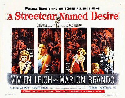 A Streetcar Named Desire - 1951 - Movie Poster #2