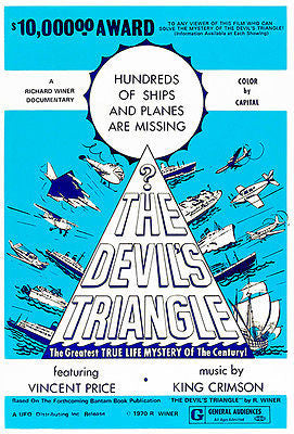 The Devil's Triangle - 1970 - Movie Poster