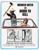 Born To Kill - 1974 - Movie Poster