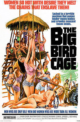 The Big Bird Cage - 1972 - Movie Poster