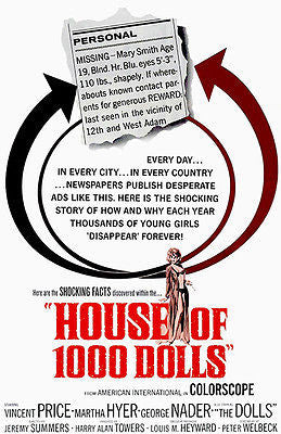 House of 1000 Dolls - 1967 - Movie Poster