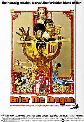 Enter the Dragon - 1973 - Movie Poster