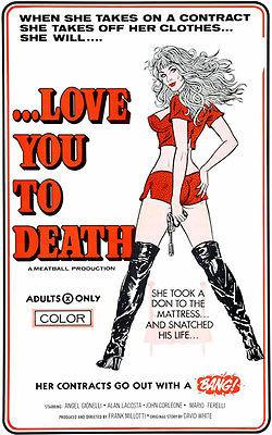 Love You To Death - 1977 - Movie Poster Magnet