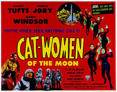 Cat-Women of the Moon - 1953 - Movie Poster