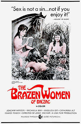 The Brazen Women of Balzac - 1969 - Movie Poster