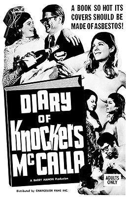 Diary of Knockers McCalla - 1968 - Movie Poster