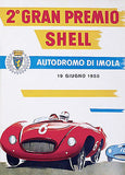 1955 6 Hours of Imola Race - Italy - Promotional Advertising Poster