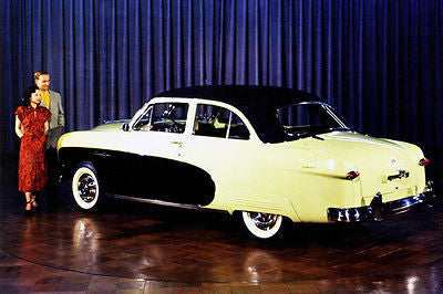 1950 Ford Custom Crestliner - Promotional Advertising Poster