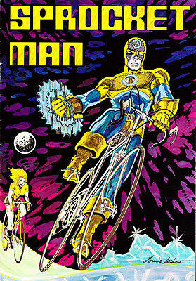 Sprocket Man 1976 Comic Book Cover Poster