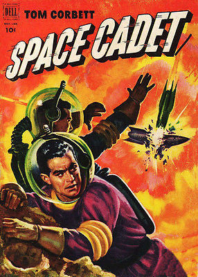 Tom Corbett, Space Cadet #4 - Comic Book Cover Poster