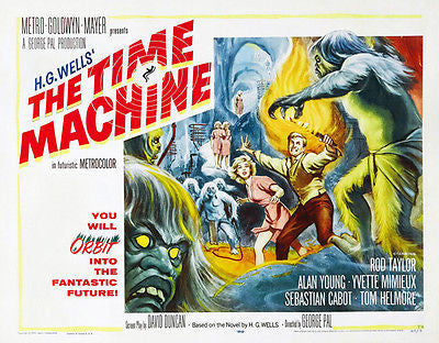 The Time Machine - 1960 - Movie Poster
