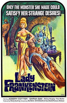 Lady Frankenstein - 1971 - Movie Poster Mug