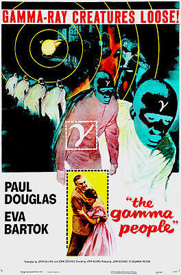 The Gamma People - 1956 - Movie Poster