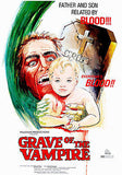 Grave Of The Vampire - 1972 - Movie Poster