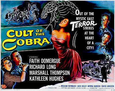 Cult Of The Cobra - 1955 - Movie Poster