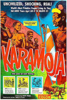 Karamoja - 1954 - Movie Poster