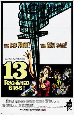 13 Frightened Girls! - 1963 - Movie Poster Magnet