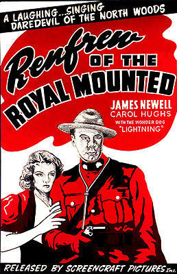 Renfrew of the Royal Mounted - 1937 - Movie Poster