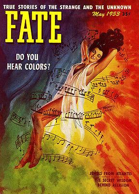 Fate - May 1953 - Magazine Cover Mug