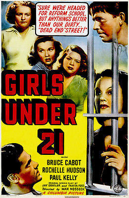 Girls Under 21 - 1940 - Movie Poster
