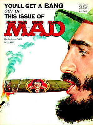 MAD Magazine #82 - October 1963 - Cover Poster